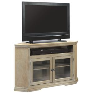 Aspenhome canyon creek 55 corner console for Furniture east wenatchee