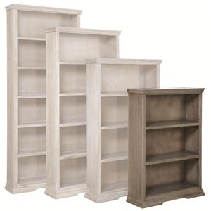 "Aspenhome Canyon Creek 48"" Bookcase with 2 Fixed Shelves"