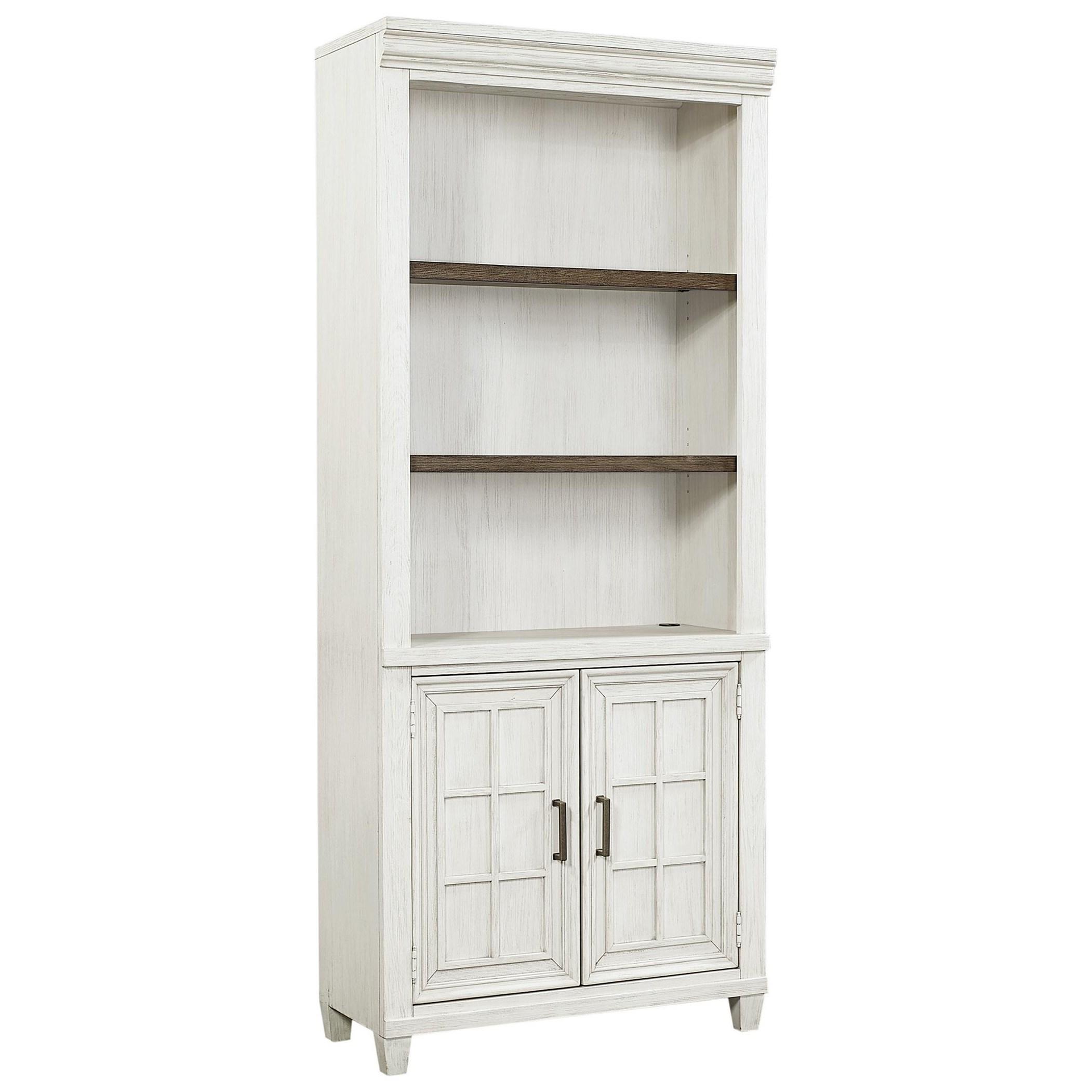 Caraway Open Door Bookcase  by Aspenhome at Walker's Furniture