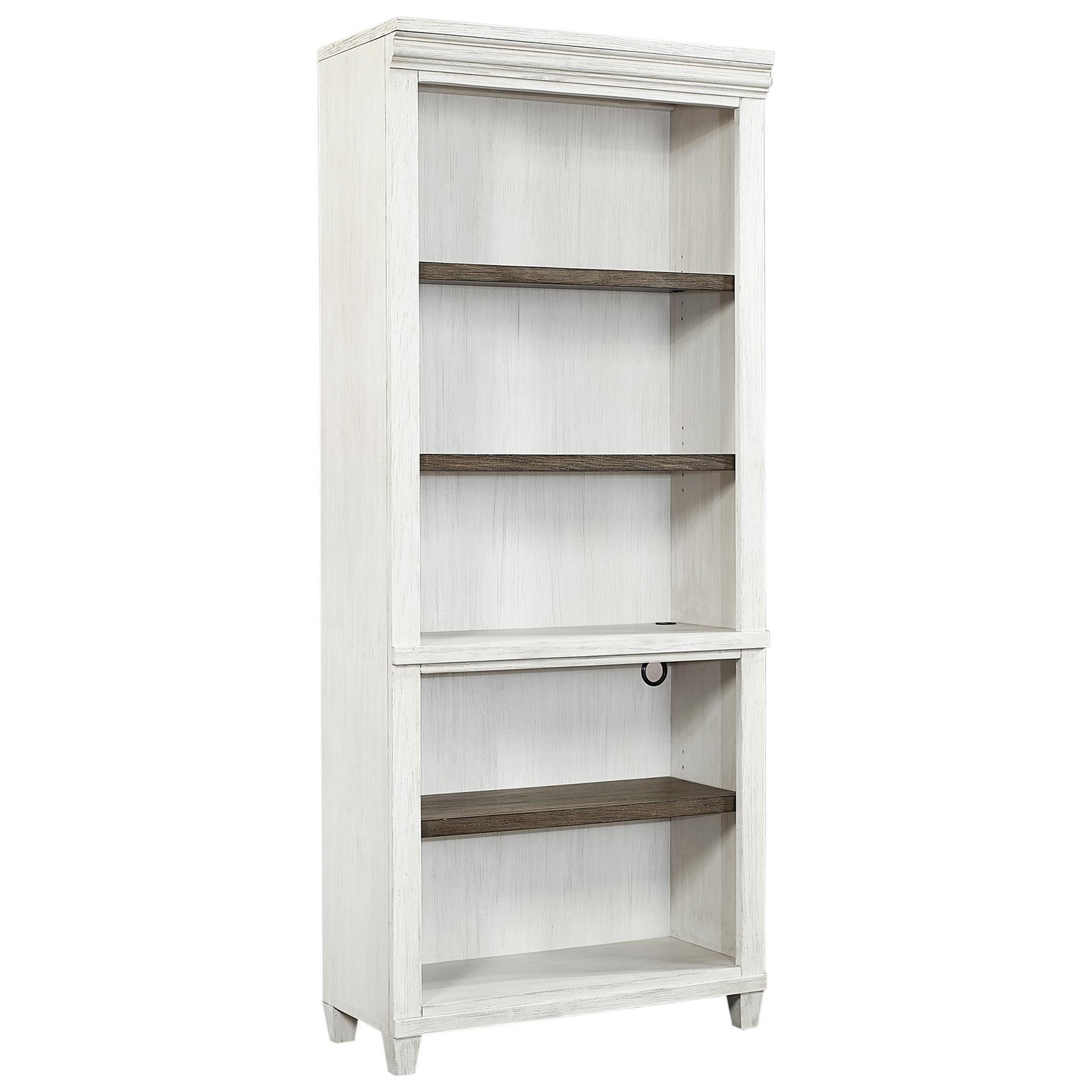 Caraway Open Bookcase  by Aspenhome at Walker's Furniture