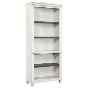 Casual Open Bookcase with Adjustable/Removable Shelving