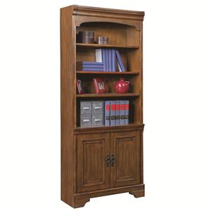 Bunching Door Bookcase with 3 Shelves