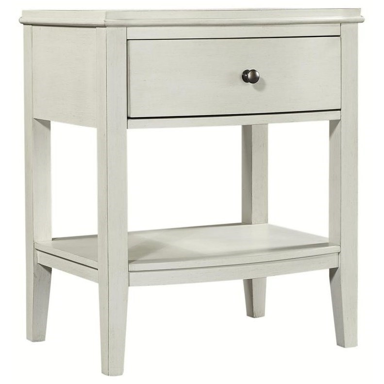Charlotte  1 Drawer Nightstand by Aspenhome at Stoney Creek Furniture