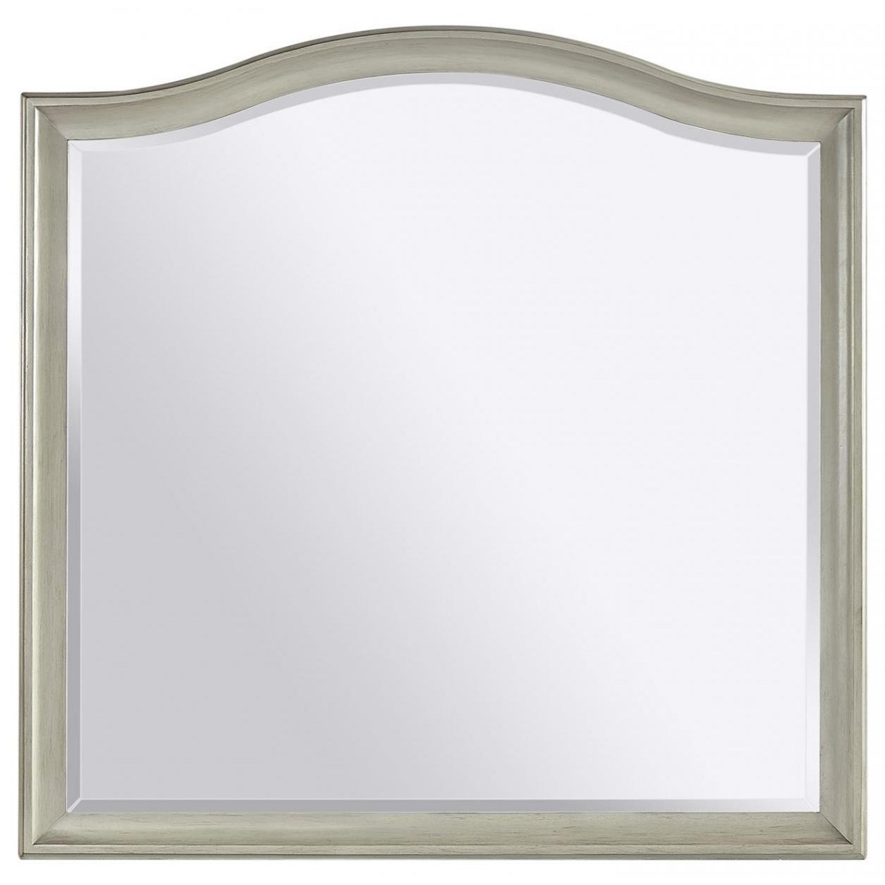 Charlotte  Landscape Mirror by Aspenhome at Stoney Creek Furniture