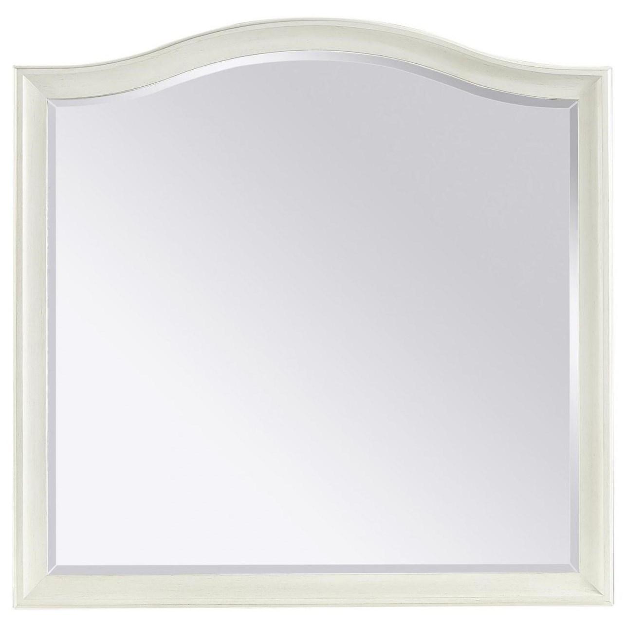 Charlotte  Landscape Mirror by Aspenhome at Walker's Furniture