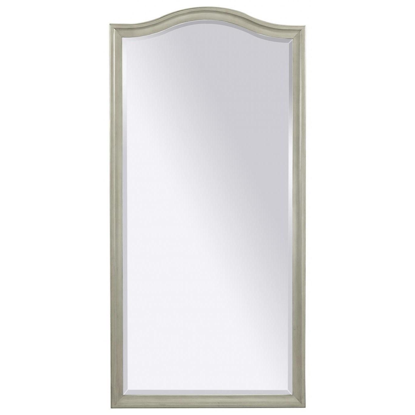Charlotte  Floor Mirror by Aspenhome at Walker's Furniture