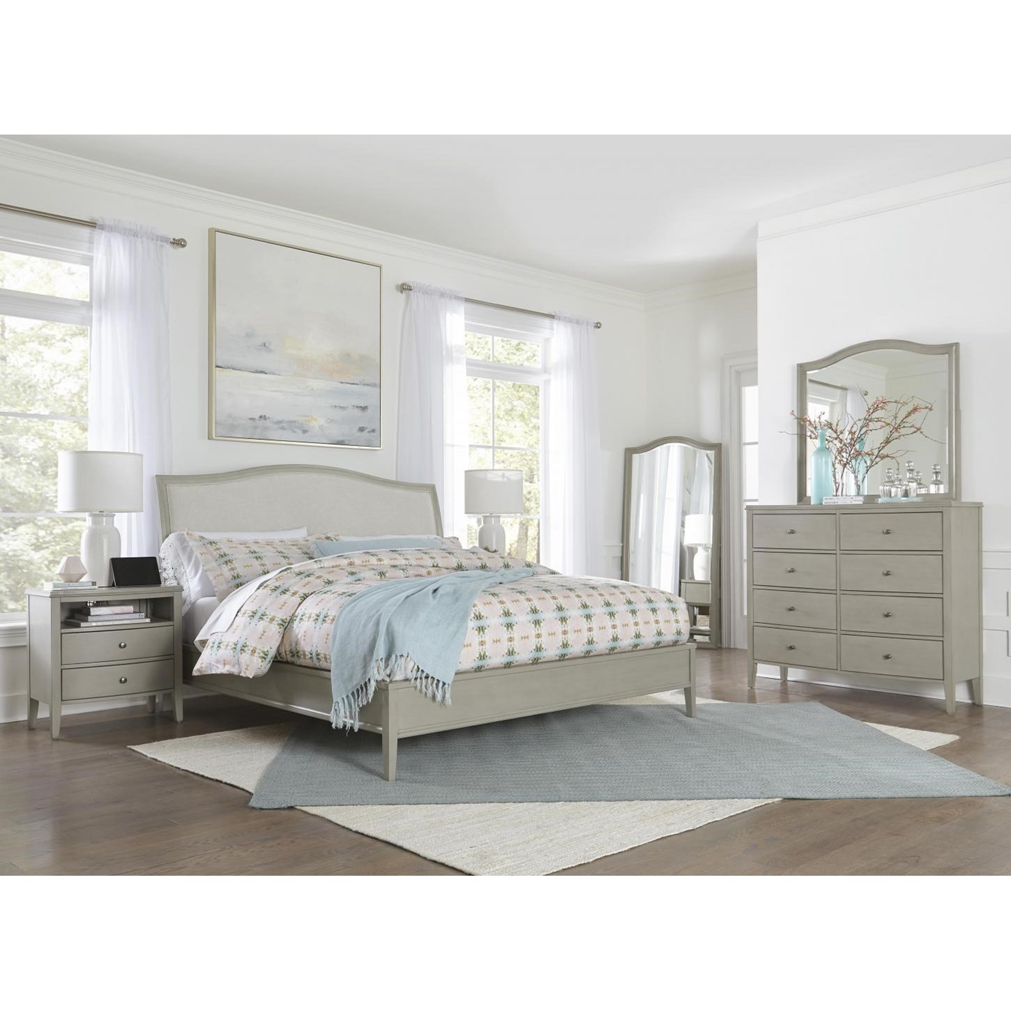 Charlotte  King Bedroom Group  by Aspenhome at Baer's Furniture