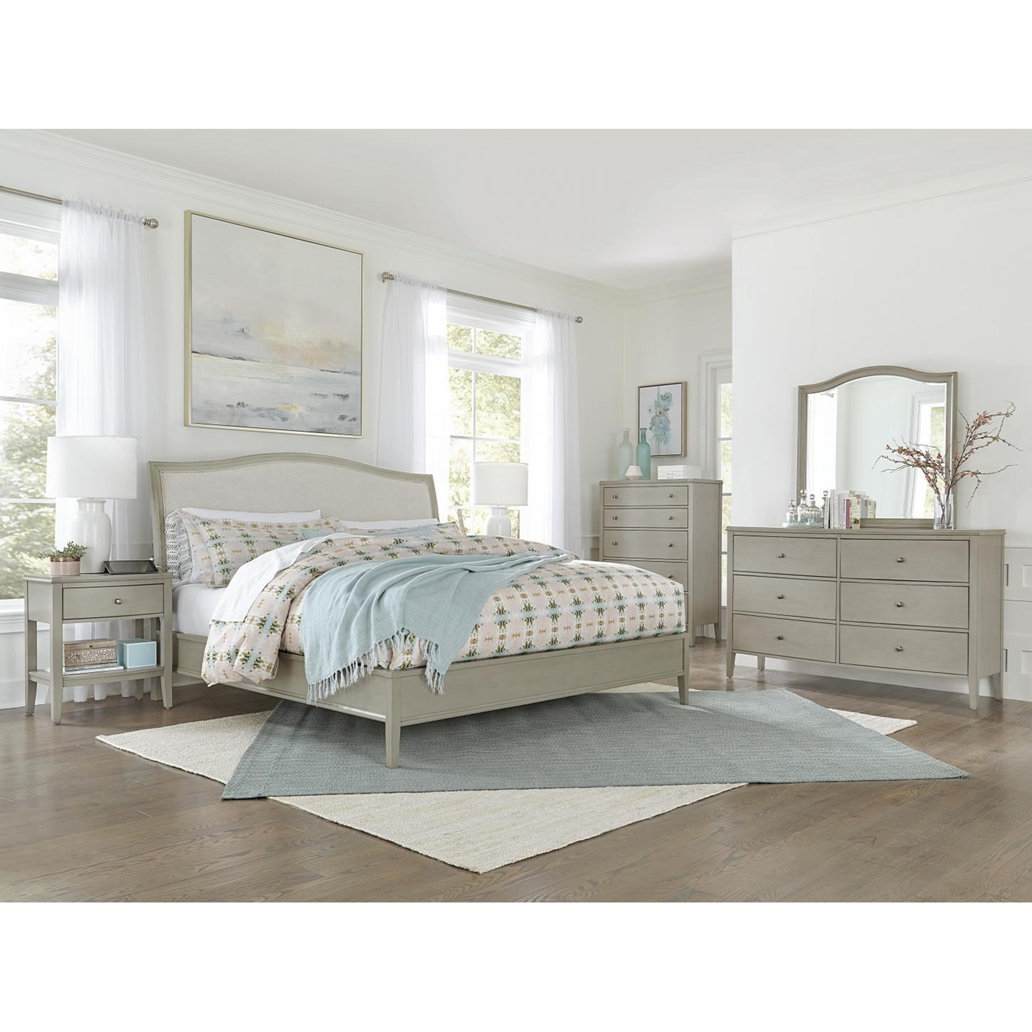 Charlotte  Queen Bedroom Group  by Aspenhome at Mueller Furniture