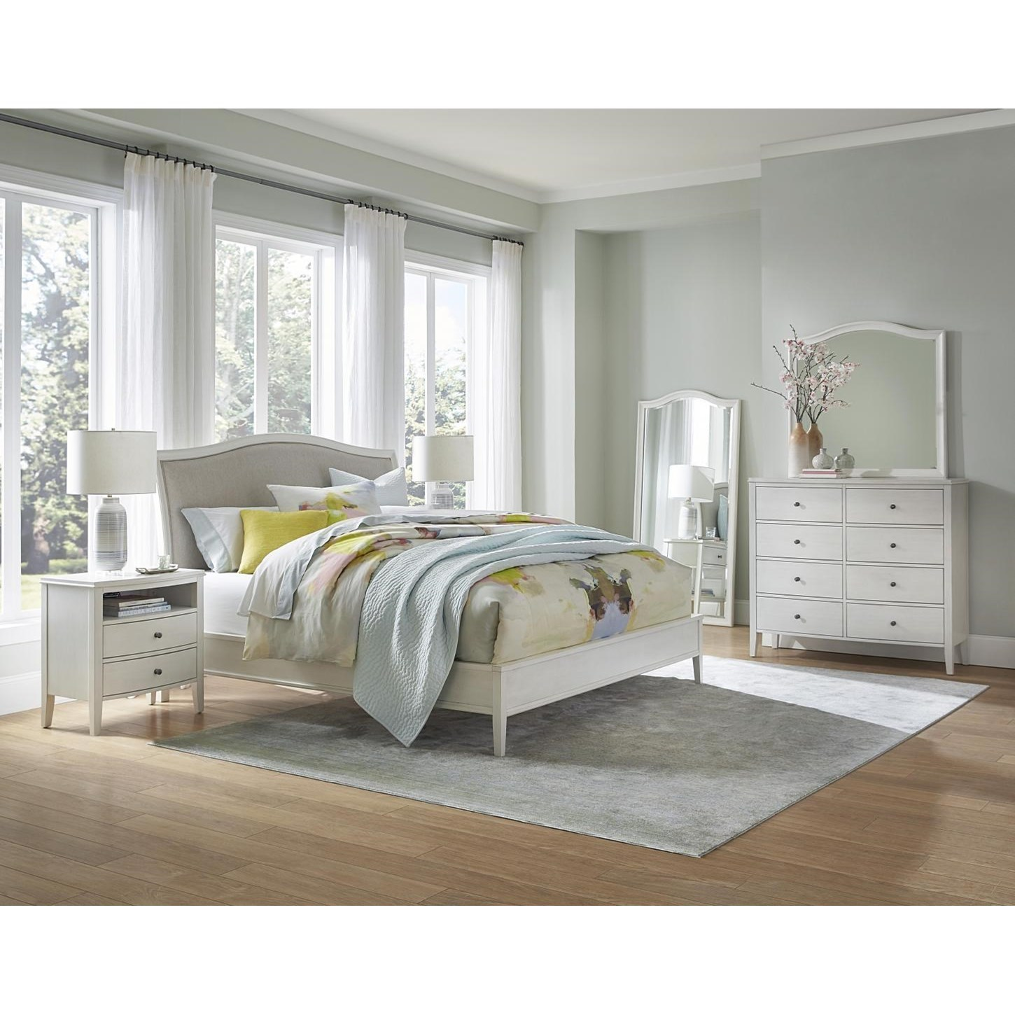 Charlotte  Queen Bedroom Group  by Aspenhome at Stoney Creek Furniture