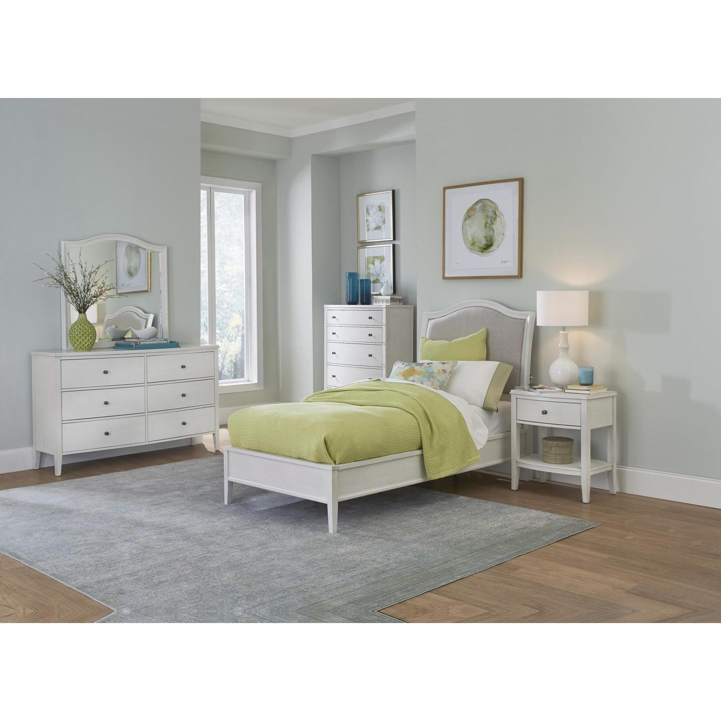 Charlotte  Twin Bedroom Group  by Aspenhome at Baer's Furniture
