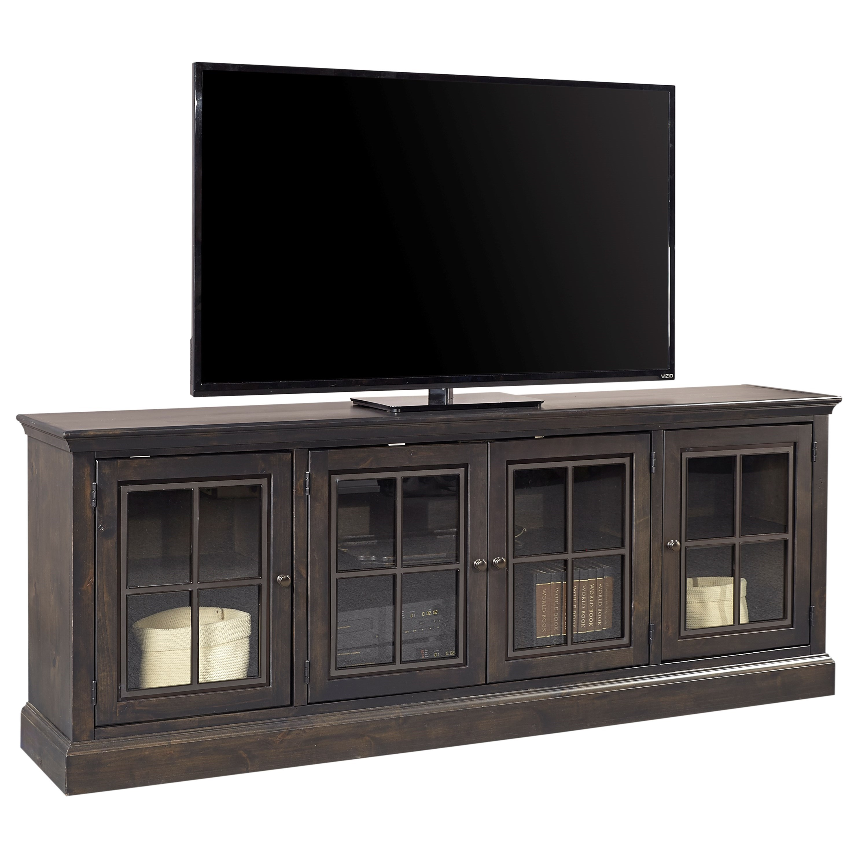 """Churchill 84"""" TV Console by Aspenhome at Darvin Furniture"""