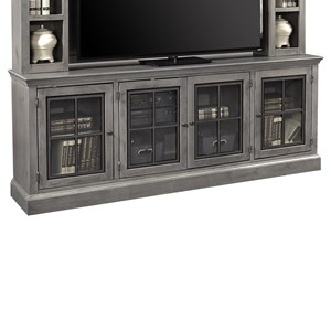 "Casual 84"" TV Console with 4 Doors"