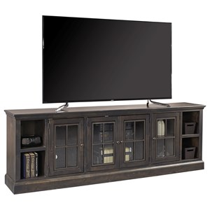 "96"" TV Console with 4 Doors"