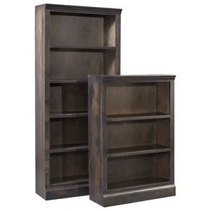 "72"" Bookcase w/ 4 fixed shelves"