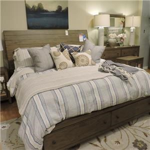 King Bed+ Dresser and Mirror + Nightstand