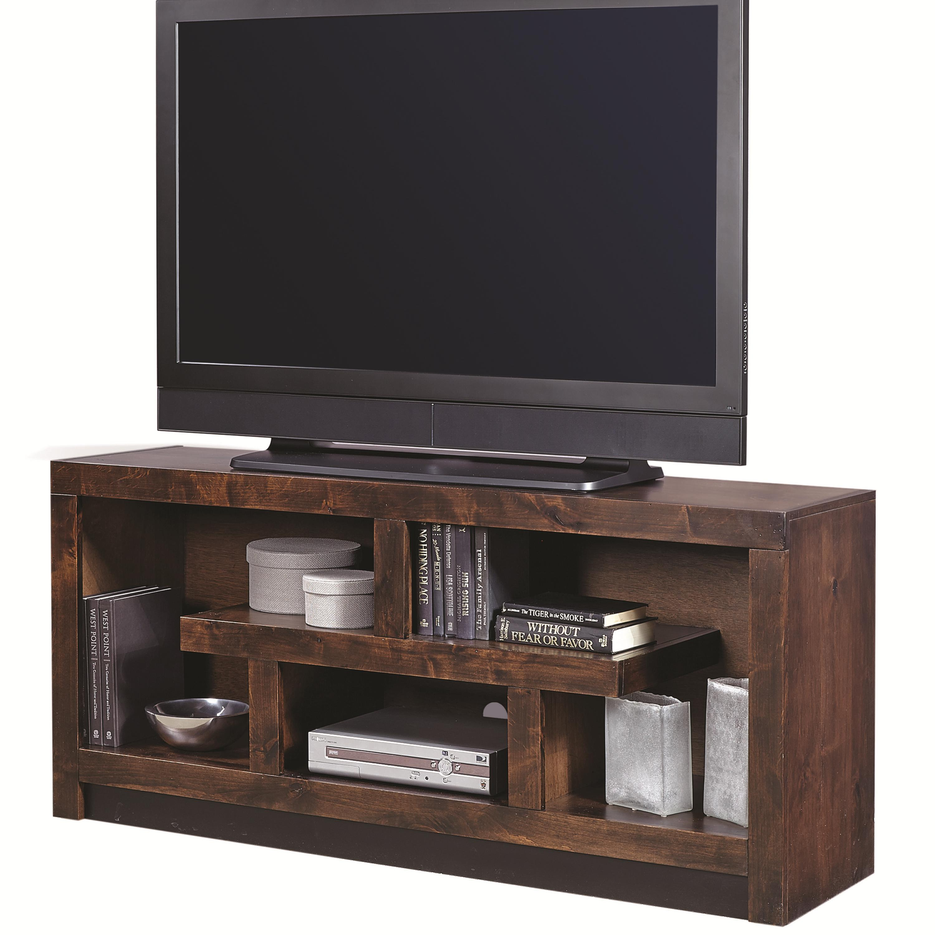 Contemporary Alder 60 Inch Console by Aspenhome at Walker's Furniture
