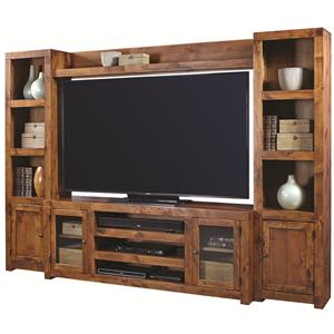 Aspenhome Contemporary Alder Entertainment Wall