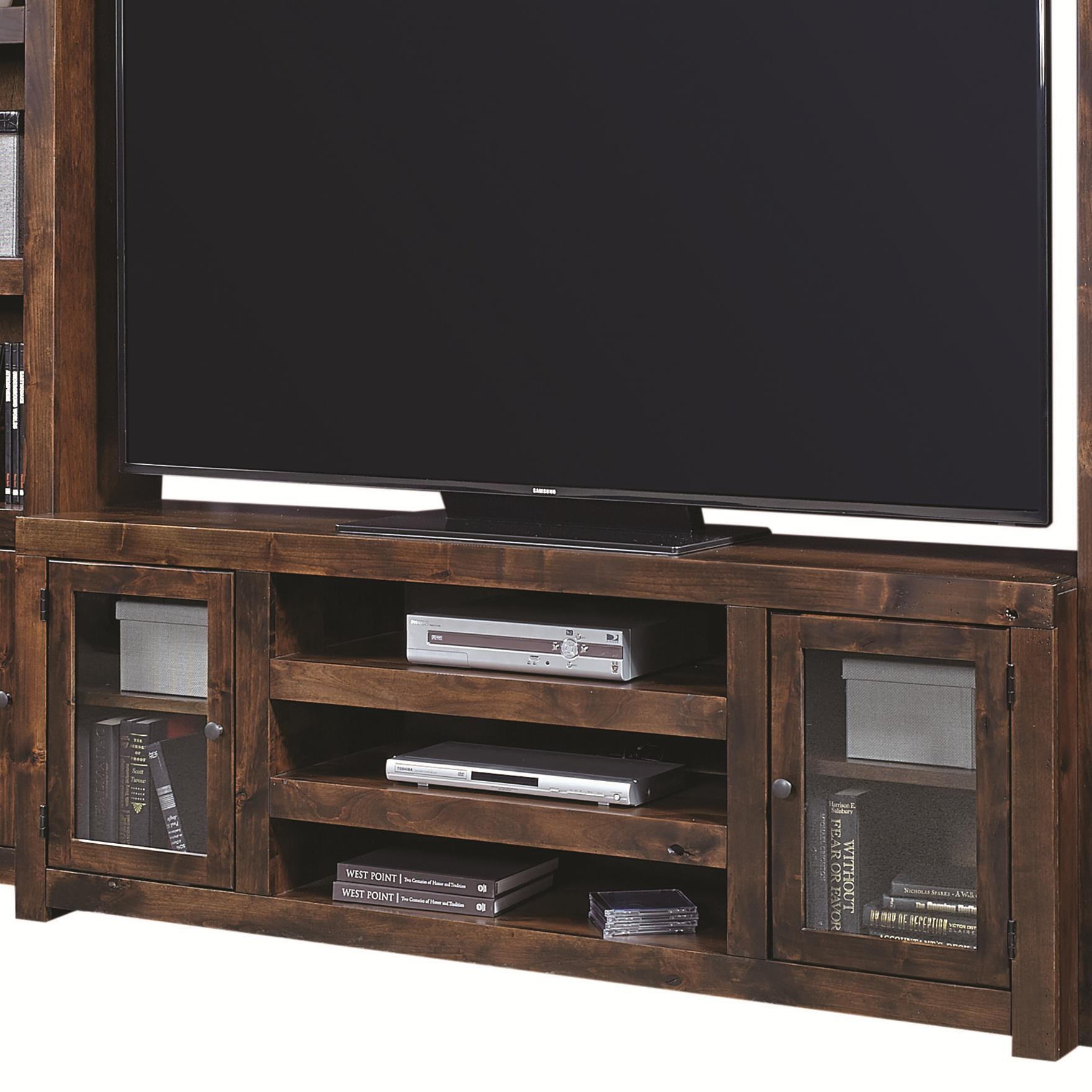 Contemporary Alder 72 Inch Console by Aspenhome at Stoney Creek Furniture
