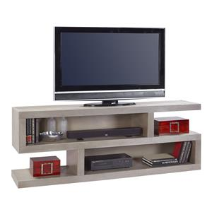 74 Inch Open Console with 4 Compartments