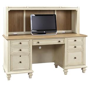 Credenza  with Pullout Printer Tray