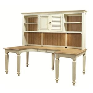 Aspenhome Cottonwood Desk and Hutch