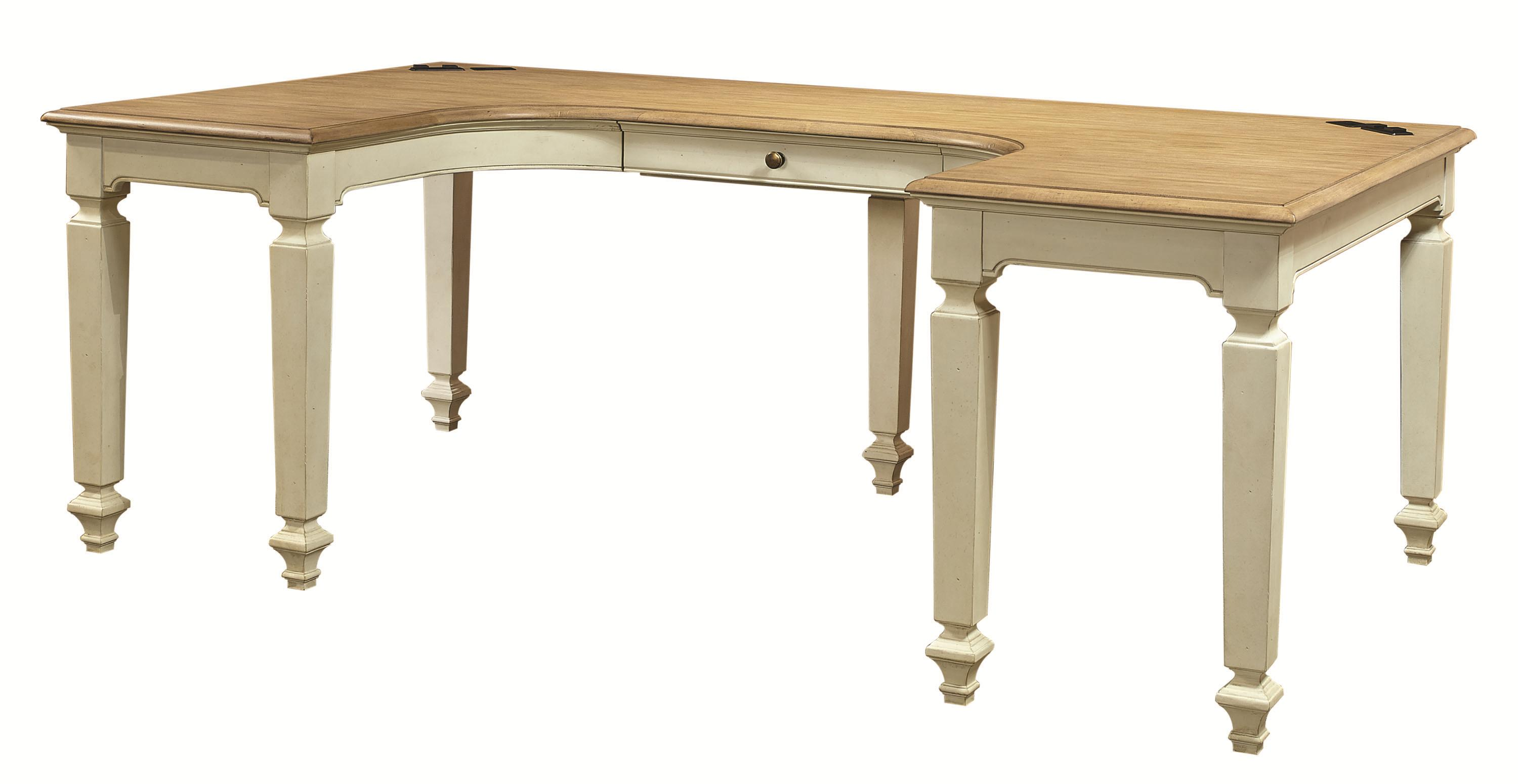 Cottonwood Desk  by Aspenhome at Fisher Home Furnishings