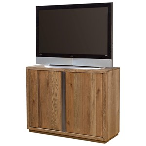 "44"" Entertainment Console with Two Doors"