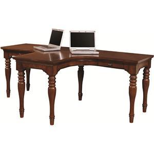 Aspenhome Villager Dual T Desk
