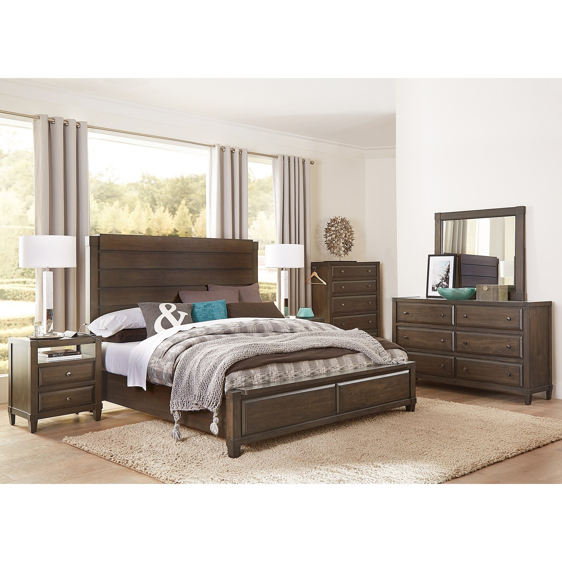 Easton Queen Bedroom Group by Aspenhome at Baer's Furniture