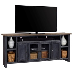 "84"" Console with a Soundbar Compartment"