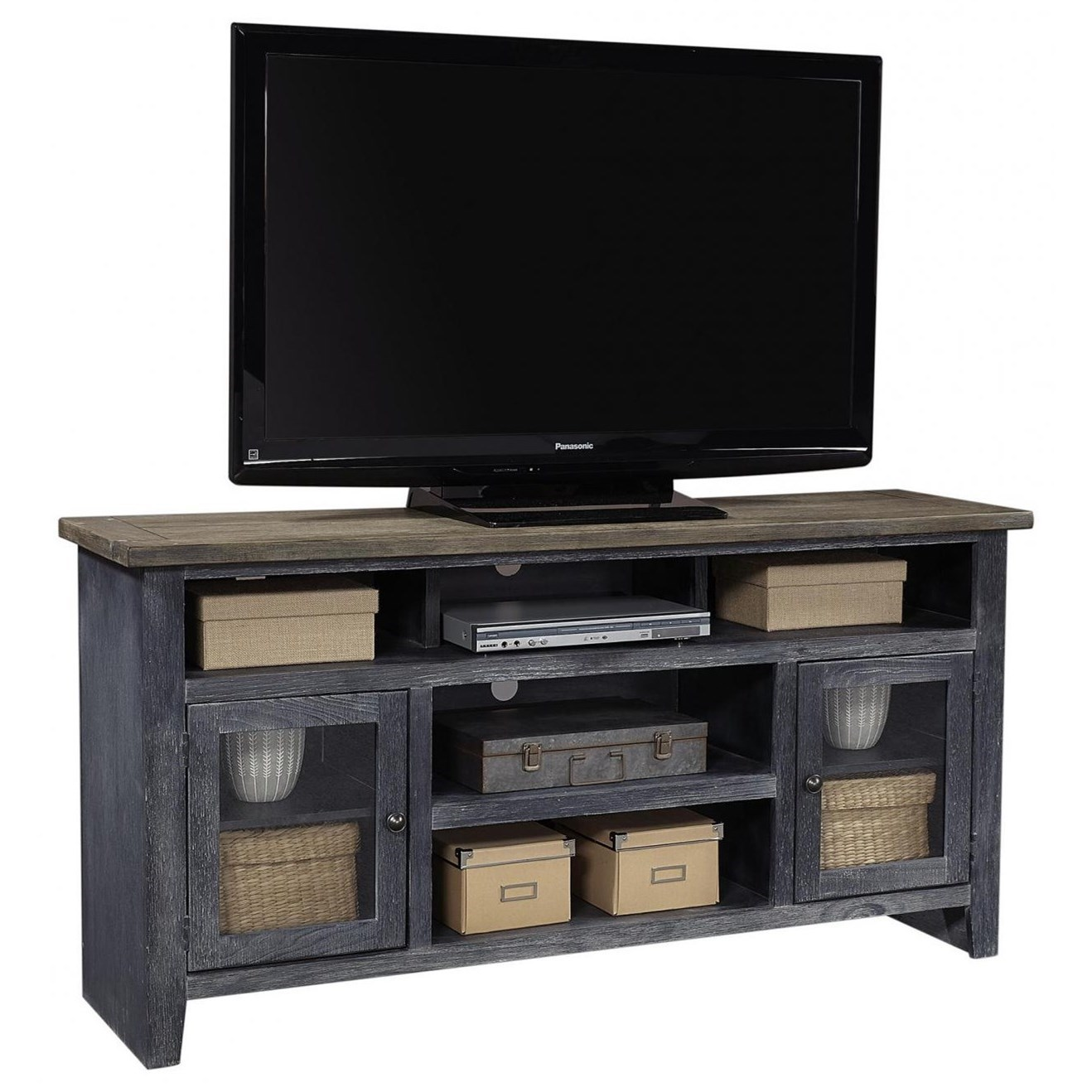 """Eastport 65"""" Console by Aspenhome at Walker's Furniture"""