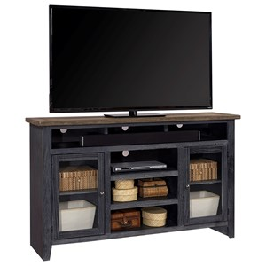 "65"" Highboy Console with Soundbar Compartment"