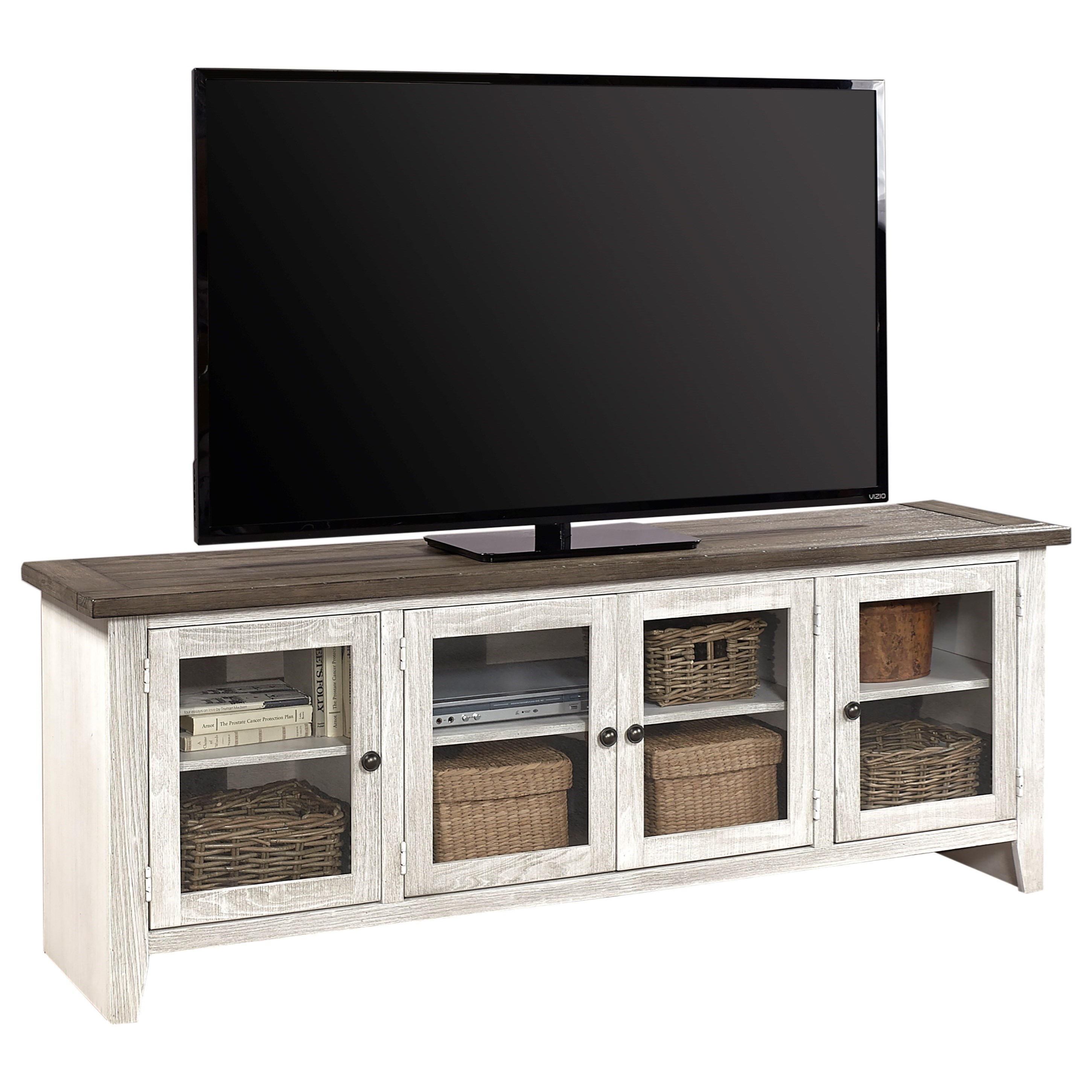 """Eastport 74"""" Console by Aspenhome at Walker's Furniture"""