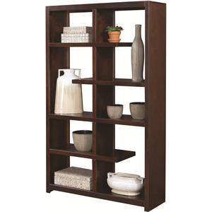 Aspenhome Essentials Lifestyle Double Sided Display Case