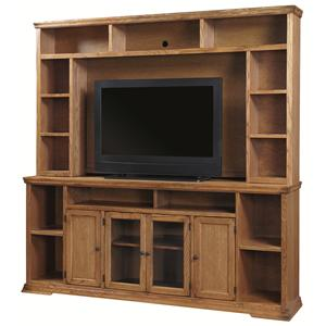 """Aspenhome Essentials New Traditions 84"""" Console and Hutch"""
