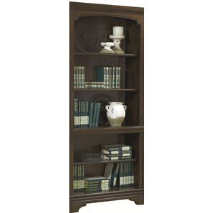 Aspenhome Essex Open Bookcase
