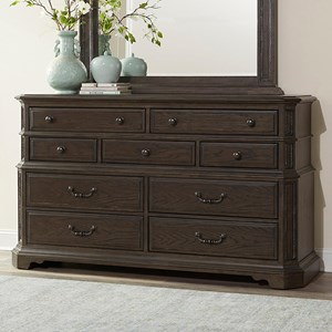 Traditional 10-Drawer Master Dresser