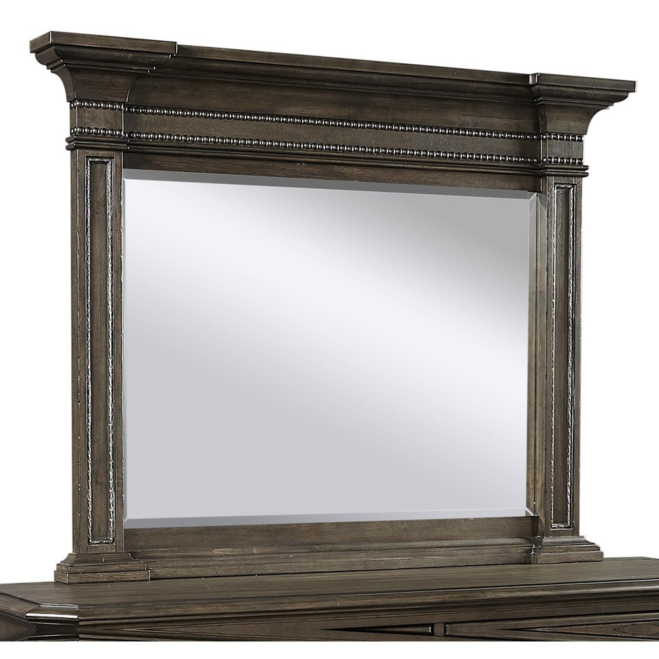 Foxhill Estate Mirror by Aspenhome at Baer's Furniture