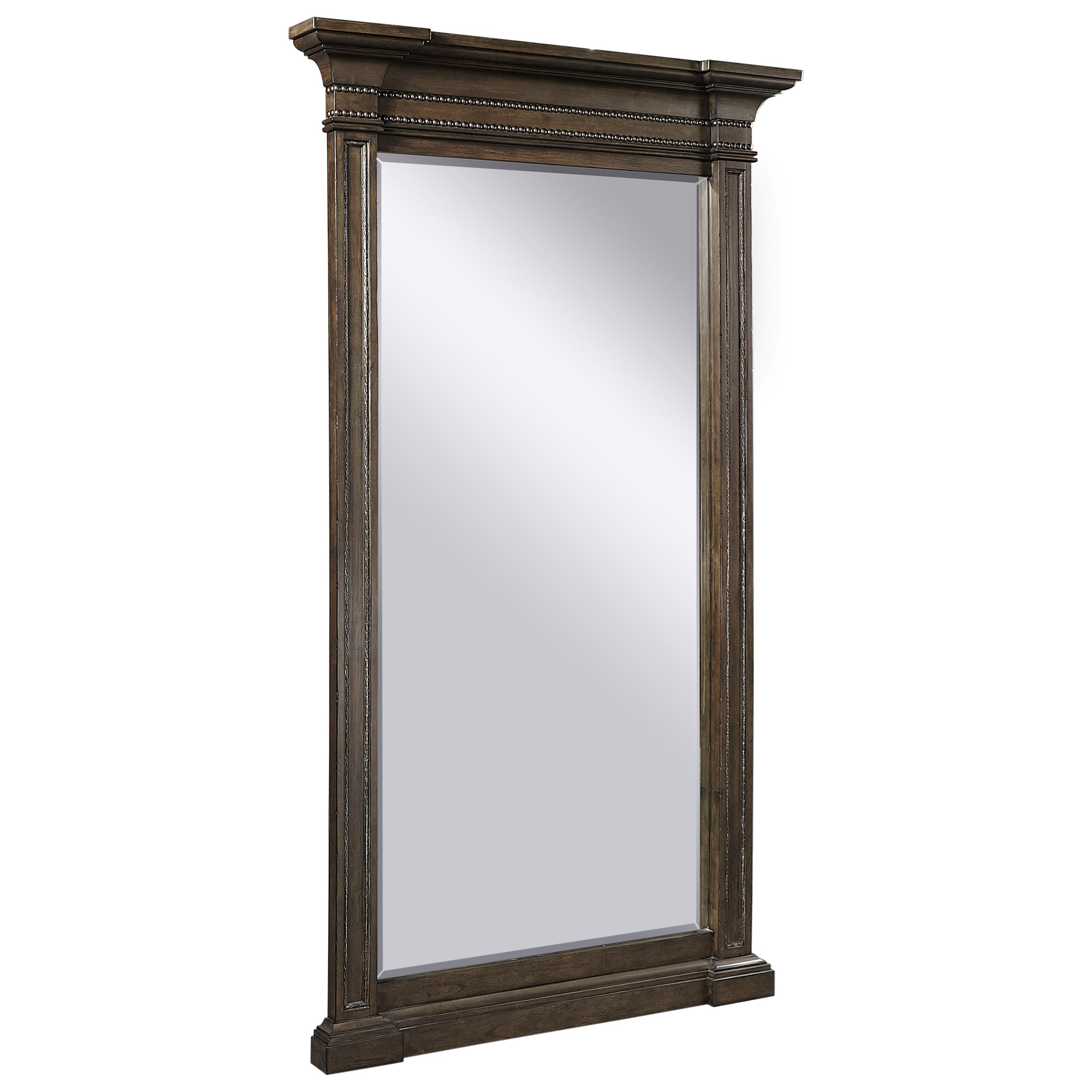 Foxhill Floor Mirror by Aspenhome at Mueller Furniture
