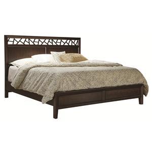 Aspenhome Genesis Queen Panel Bed