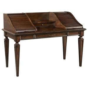 "66"" Roll Top Writing Desk"