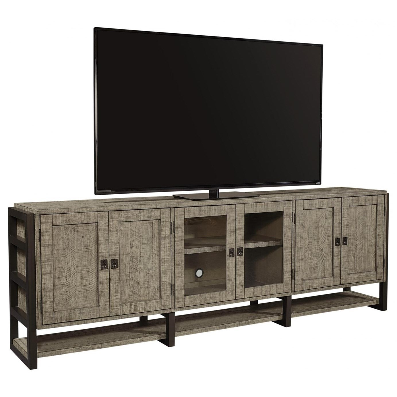 """Grayson 96"""" Console by Aspenhome at Walker's Furniture"""