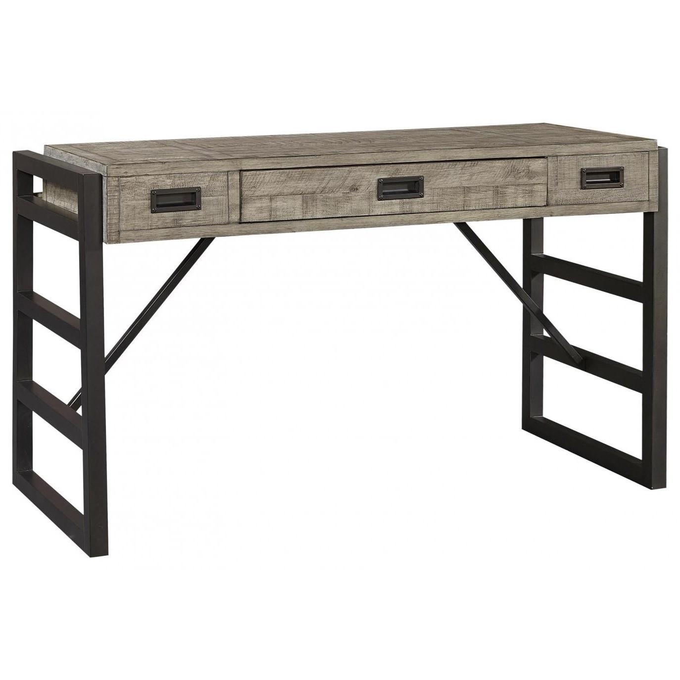 Grayson Liv360 Sofa/Writing Table by Aspenhome at Stoney Creek Furniture