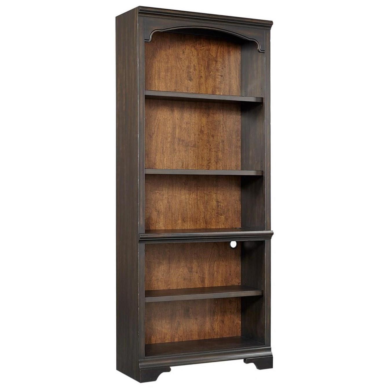 Hampton Open Bookcase  by Aspenhome at Baer's Furniture