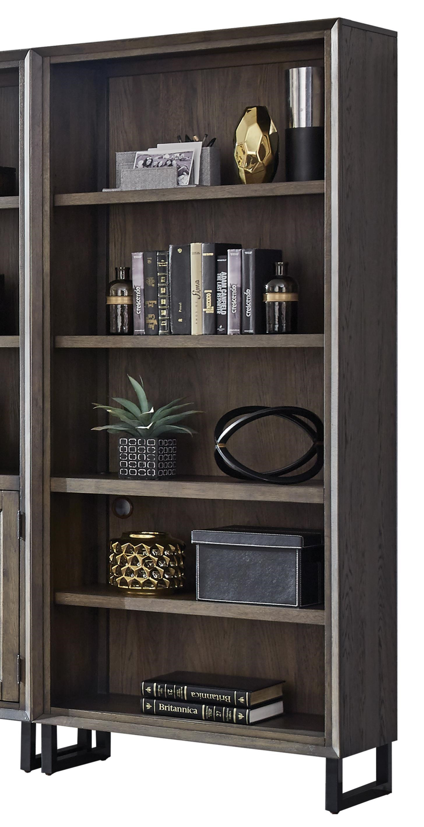 Harper Point Open Bookcase  by Aspenhome at Walker's Furniture