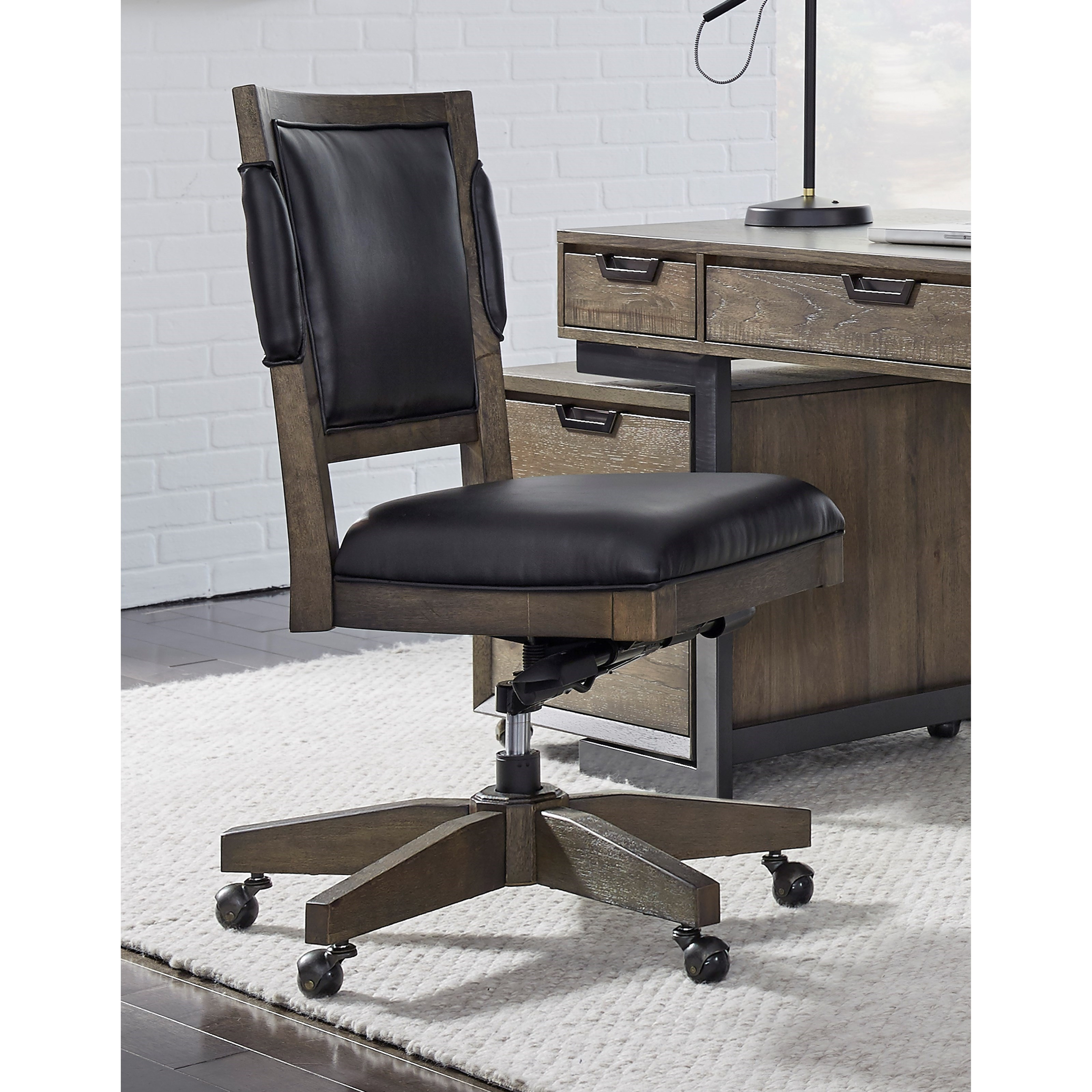 Harper Point Office Chair  by Aspenhome at Baer's Furniture