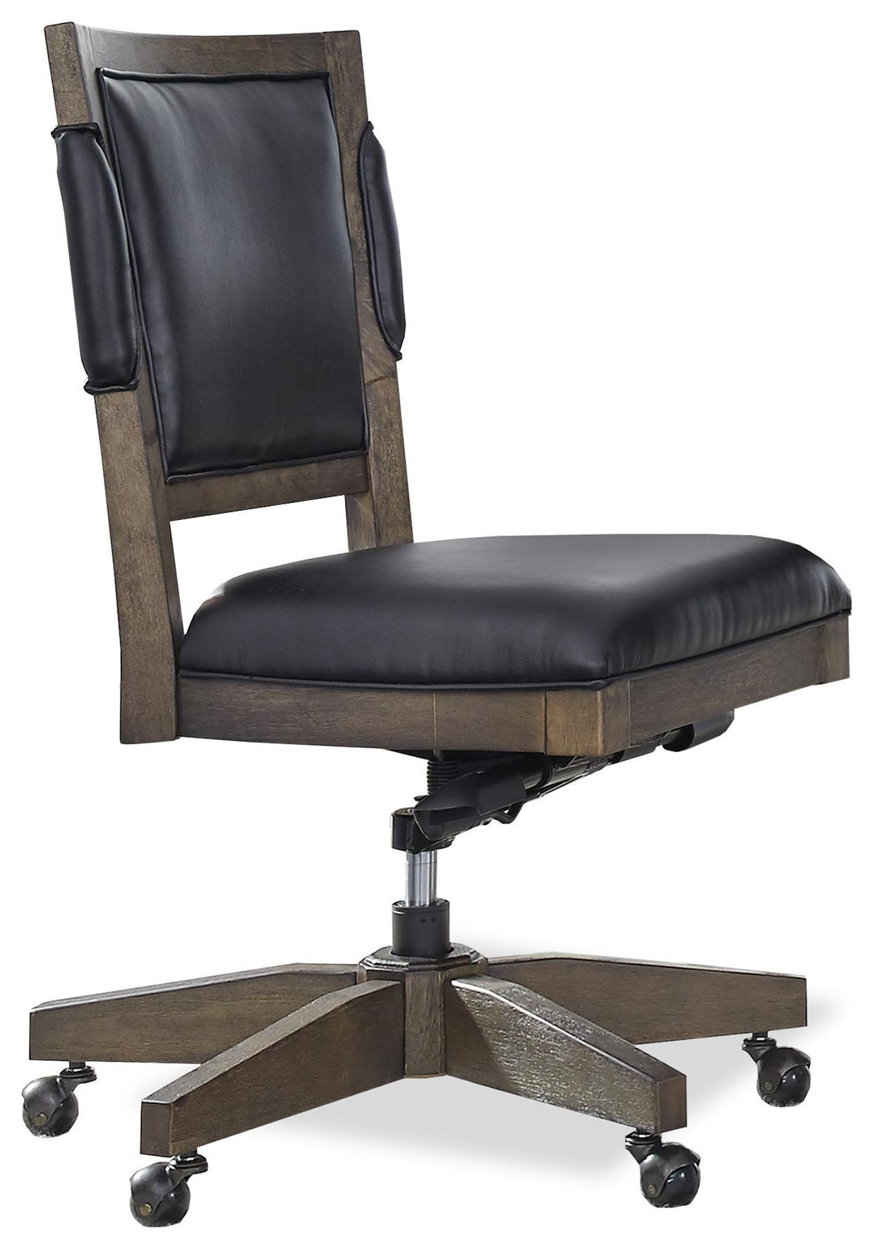 Harper Point Office Chair by Aspenhome at HomeWorld Furniture