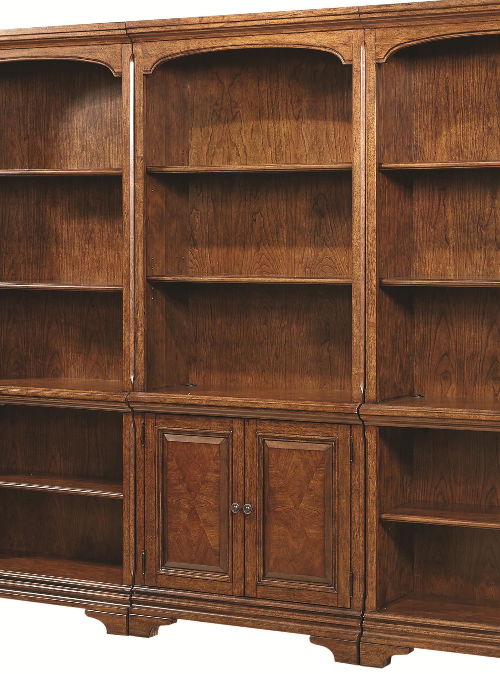 Hawthorne Door Bookcase by Aspenhome at Mueller Furniture