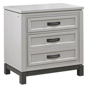 Nightstand with Dovetail Drawer Outlets