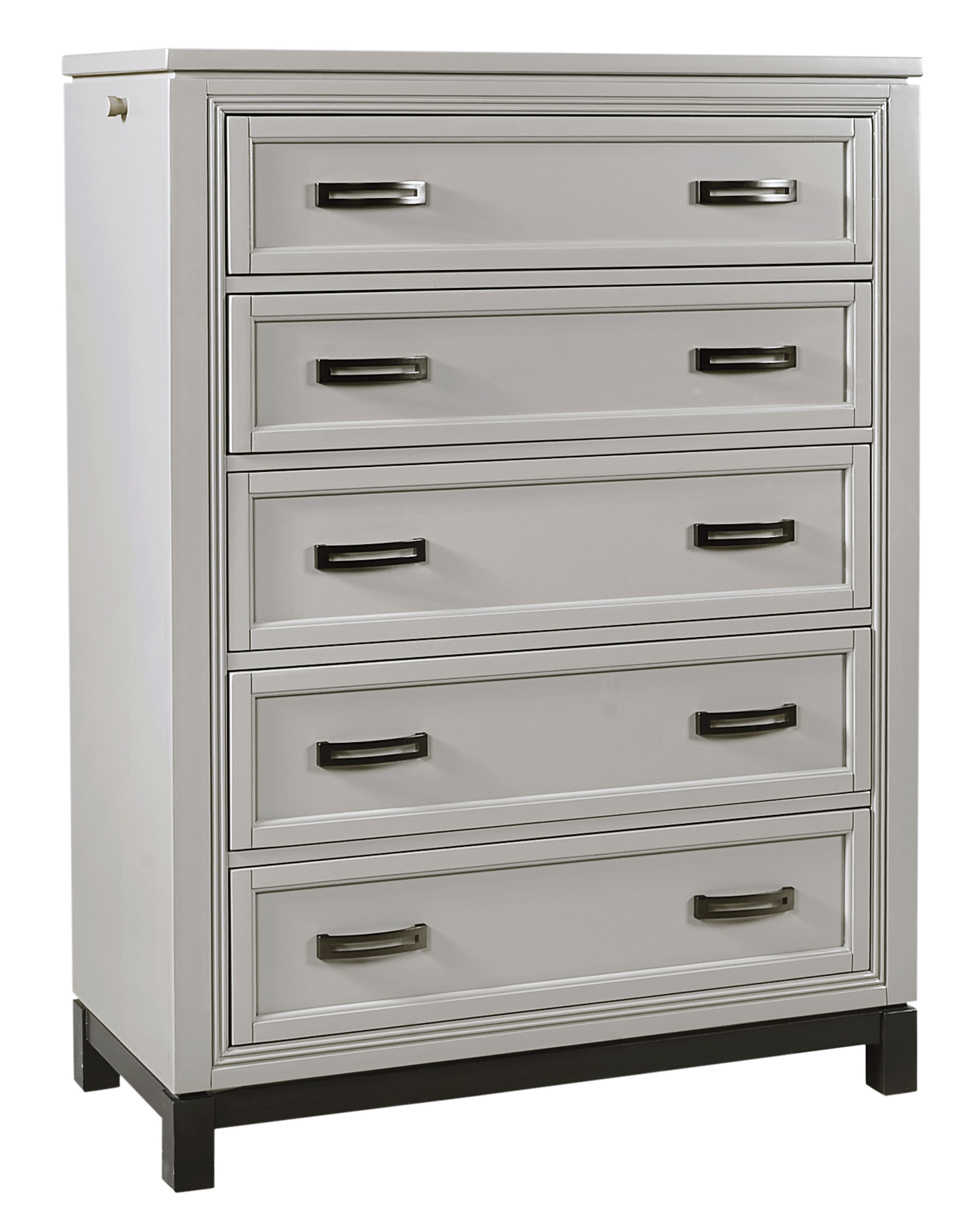 Hyde Park 5 Drawer Chest  by Aspenhome at Baer's Furniture